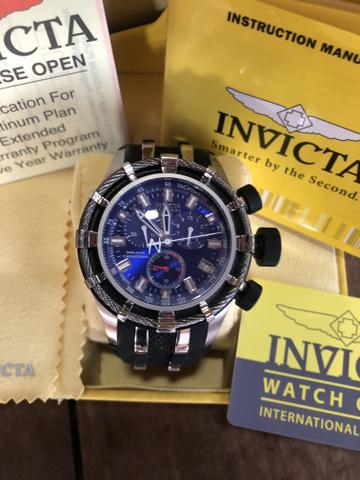 Relógio invicta bolt 6433 50 mm original