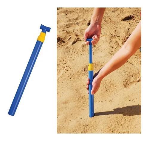 Saca areia de pressão para guarda sol tira suga 3693 - mor