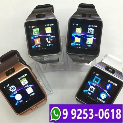 Smartwatch dz09 relogio bluetooth inteligente pronta entrega