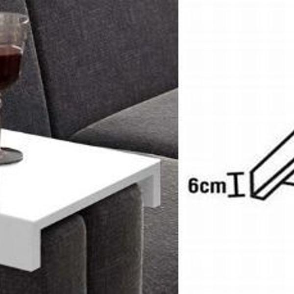 Apoio de sofá / porta copos e controle
