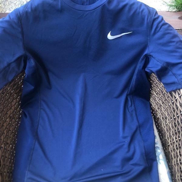 Blusa dry fit masculina azul