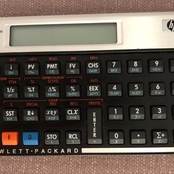 Calculadora financeira hp12c - platinum