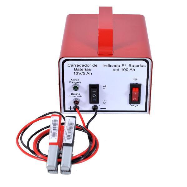 Carregador baterias automotivo lento rápido 12 v 5ah 220 v