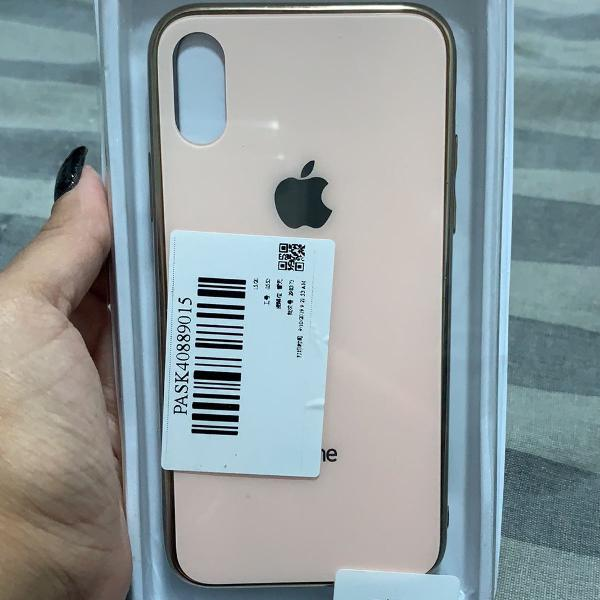 Case resistente iphone x/xs - nunca utilizada