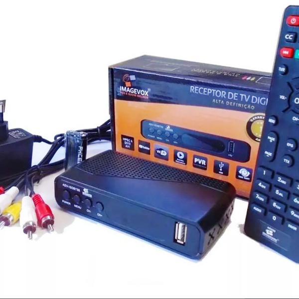 Conversor receptor de tv digital imagevox full hd