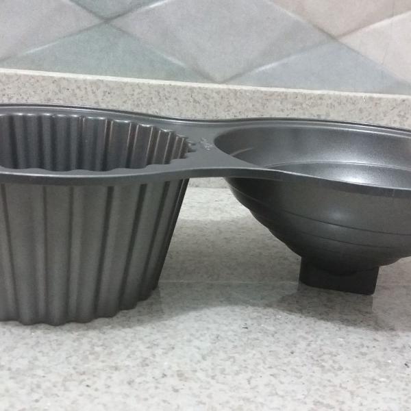 Forma de bolo cup cake