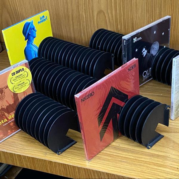 Kit porta cds/games