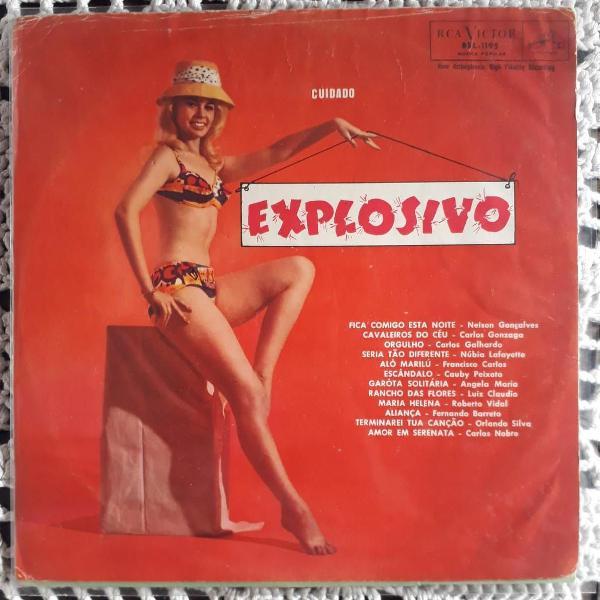 Lp disco vinil cuidado explosivo -1962