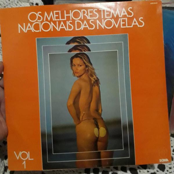 Lp disco vinil os melhores temas nacionais das novelas 1980