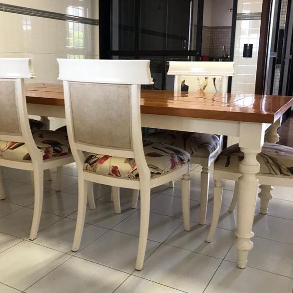 mesa de jantar/almoço cecilia dale