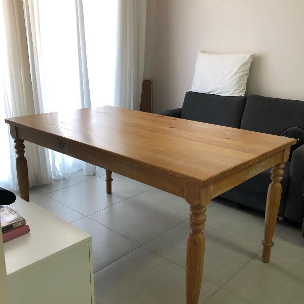 Mesa madeira maciça olinda da tokstok