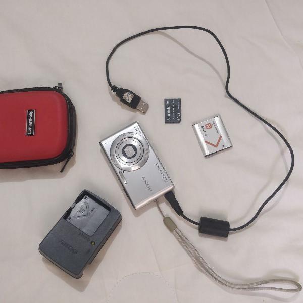 Máquina fotográfica digital sony cibershot 14.1 megas