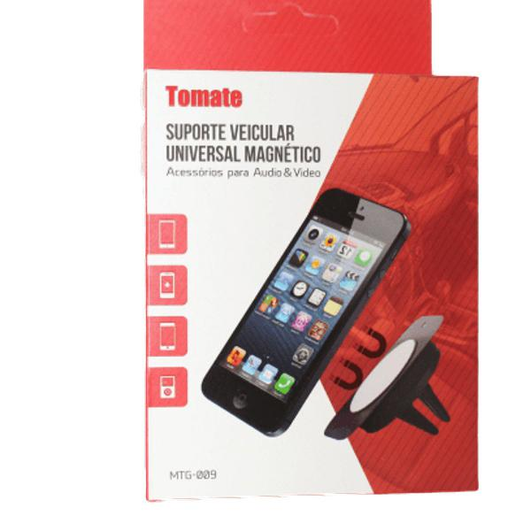 Suporte veicular magnético universal marca tomate