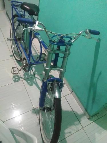 Biciqleta Monark Ano75 A 79 Motada Freios Modernos.