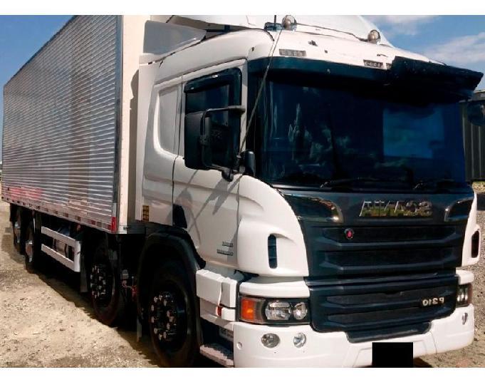 Caminhão scania p310 8x2 ano 201314.
