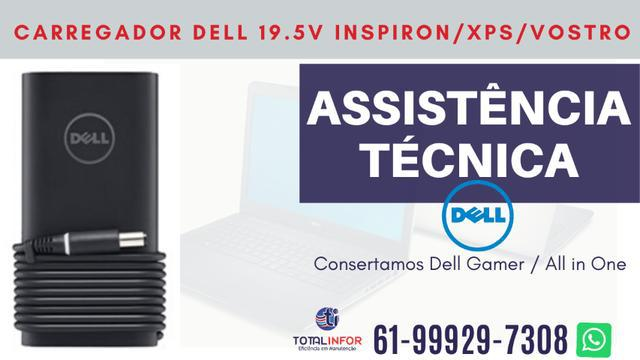 Carregador notebook dell 19.5v inspiron / vostro / xps /