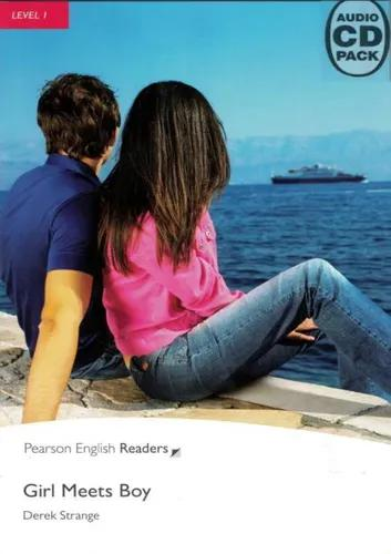 Girl meets boy - penguin readers level 1 - book with audio