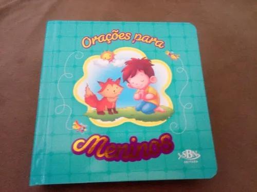 Livro infantil - orações para meninos - orações p/ peq.
