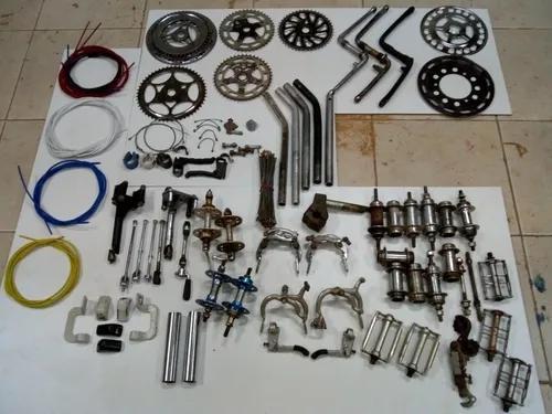 Lote peças bikes antigas.vendo separadamente.