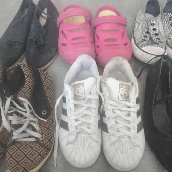 Lote calçado 35