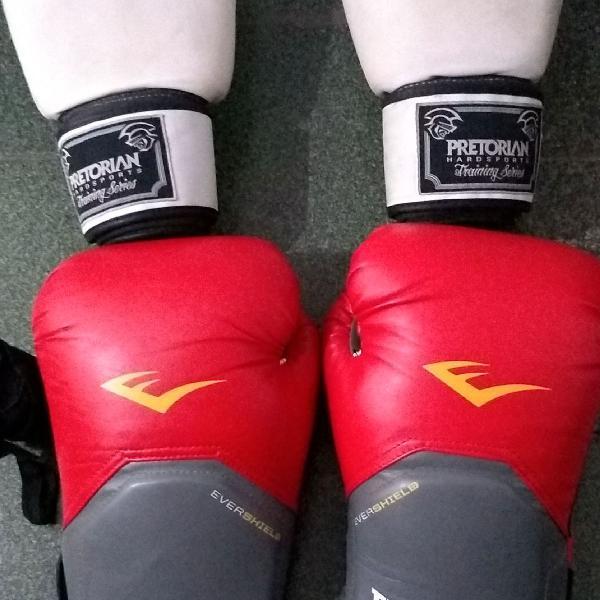 Luvas de muay thai boxe kickboxing
