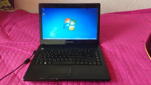 Notebook emachine(acer) com hd 500 e 4 de ram