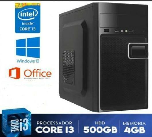 Oferta!! pc-cpu core i3 + 4gb ddr3 + 500gb hd + garantia -