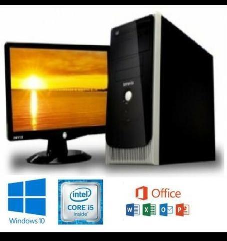 Oferta! pc computador i5 4gb ddr3 500gb - garantia e entrega