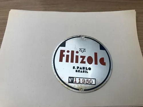 Placa Alumínio Logo Filizola