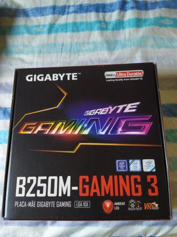 Placa mãe b250m-gaming gigabyte