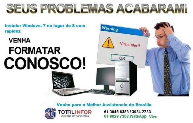 Problemas seu notebook? acer asus dell lenovo hp apple -
