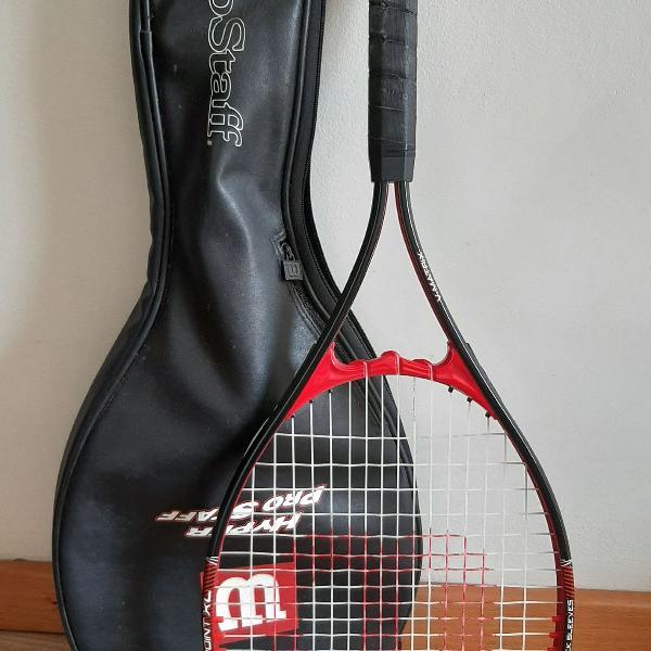Raquete tênis nova com bolsa