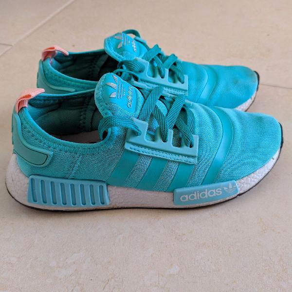 Tênis adidas nmd azul claro
