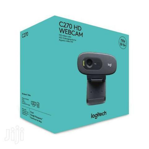 Web cam logitech c270 (valor promocional em dinheiro)