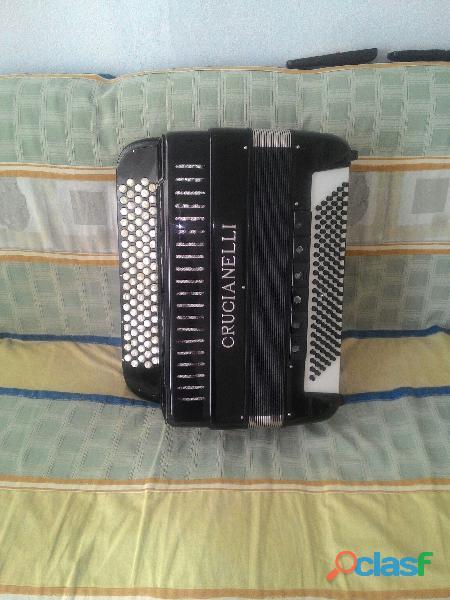 acordeon cromático de botões 120 baixos italiano