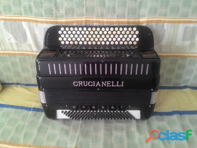 acordeon cromático de botões 120 baixos italiano 1