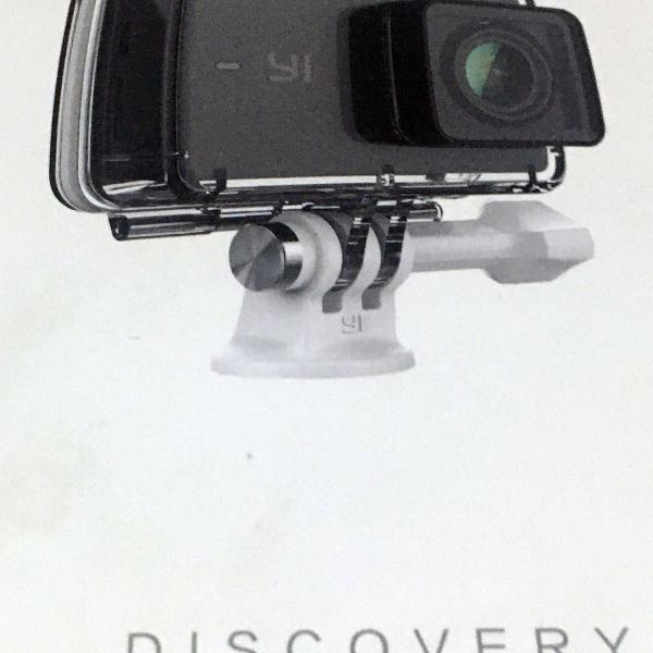 Câmera xiaomi yi discovery 4k + acessórios