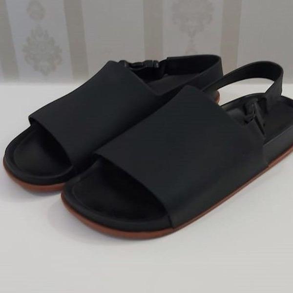 Melissa beach slide sandal preta