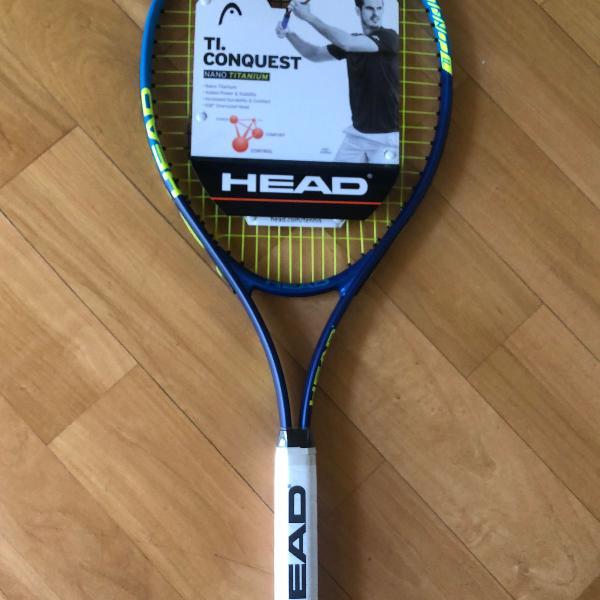 Raquete de tênis head ti conquest
