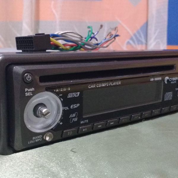Rádio automotivo cyber para reutilizar peças
