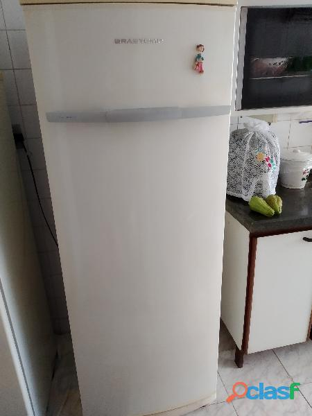 Refrigerados brastemp 360 litros degelo pequeno toque como nova aceito todos cartões