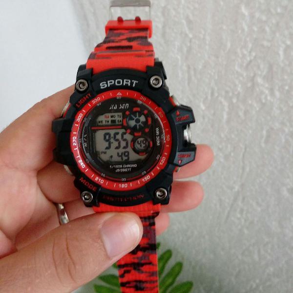 Relógio masculino camuflado sport