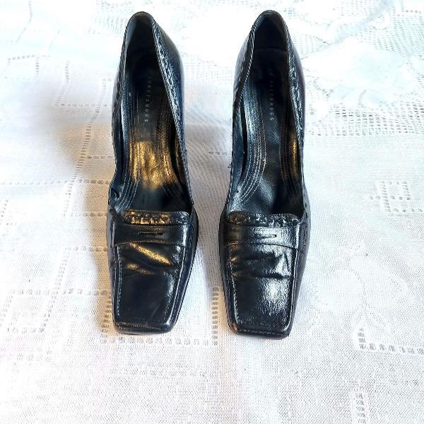 Sapato city shoes bico quadrado