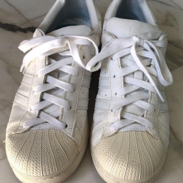 Tênis adidas star branco