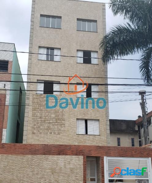 Apartamento com 2 dorms em são vicente - centro por 220 mil à venda