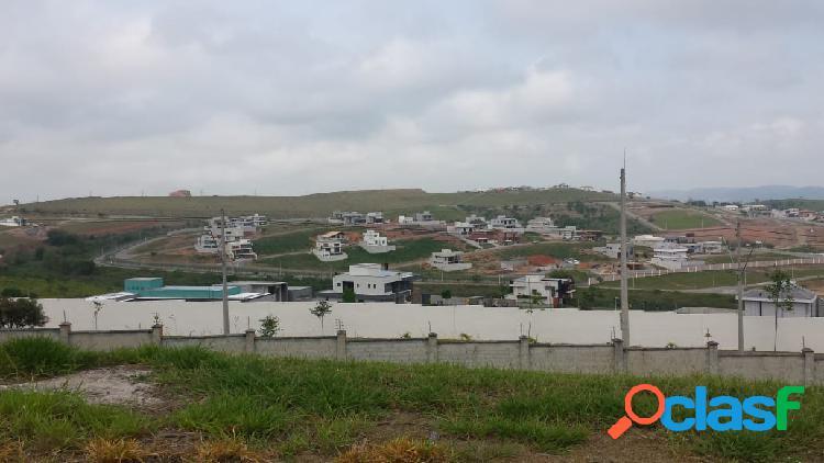 Lindo terreno no alpahaville urbanova com 569 m² com linda vista
