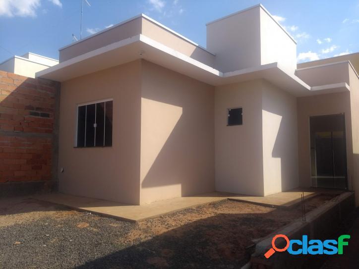 Casa nova aceita financiamento - 175 mil