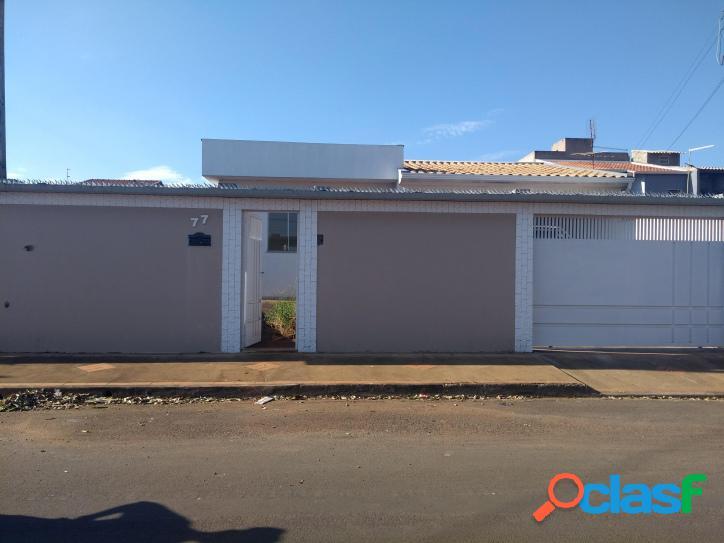 Casa nova aceita financiamento