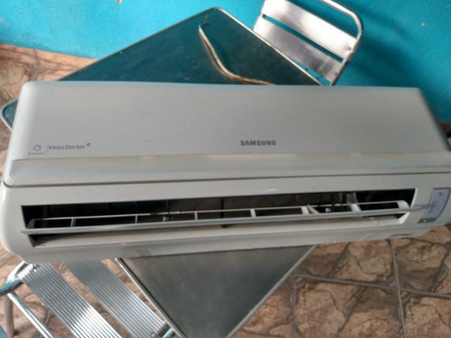 Ar condicionado split 9000 btus + instalação grátis