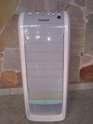 Climatizador de ar portátil 127v(110v) frio branco bem
